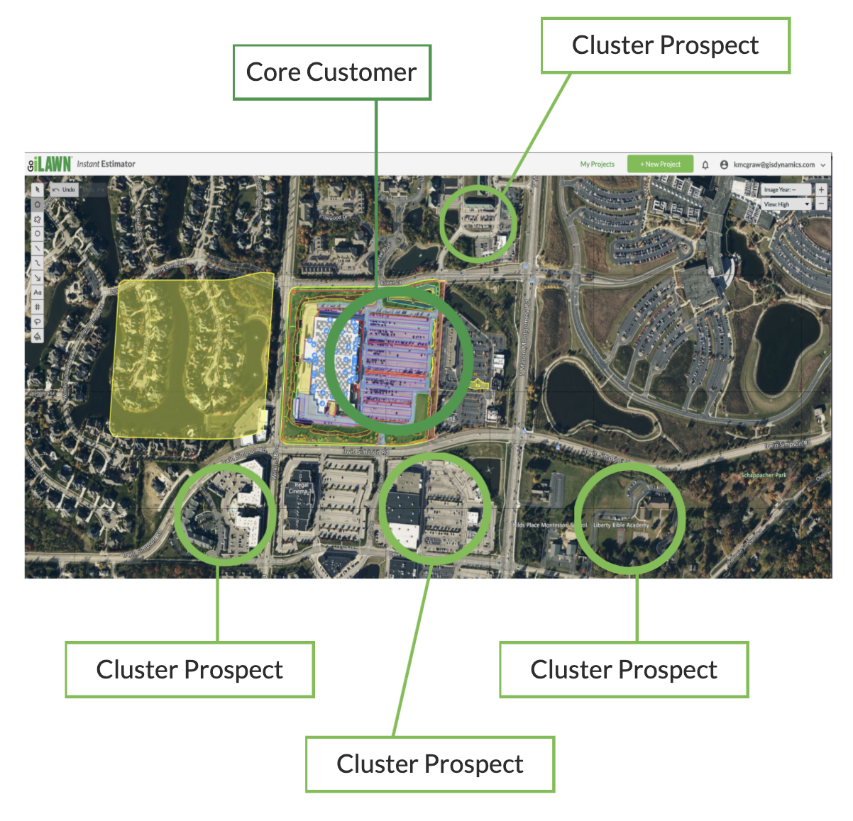 Create a cluster marketing strategy to build route density
